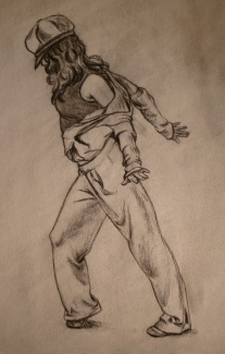 Hip Hop Dancer 1