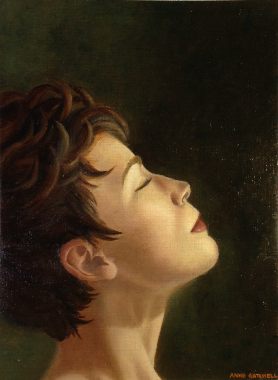 "Oil on canvas; 12x16"""